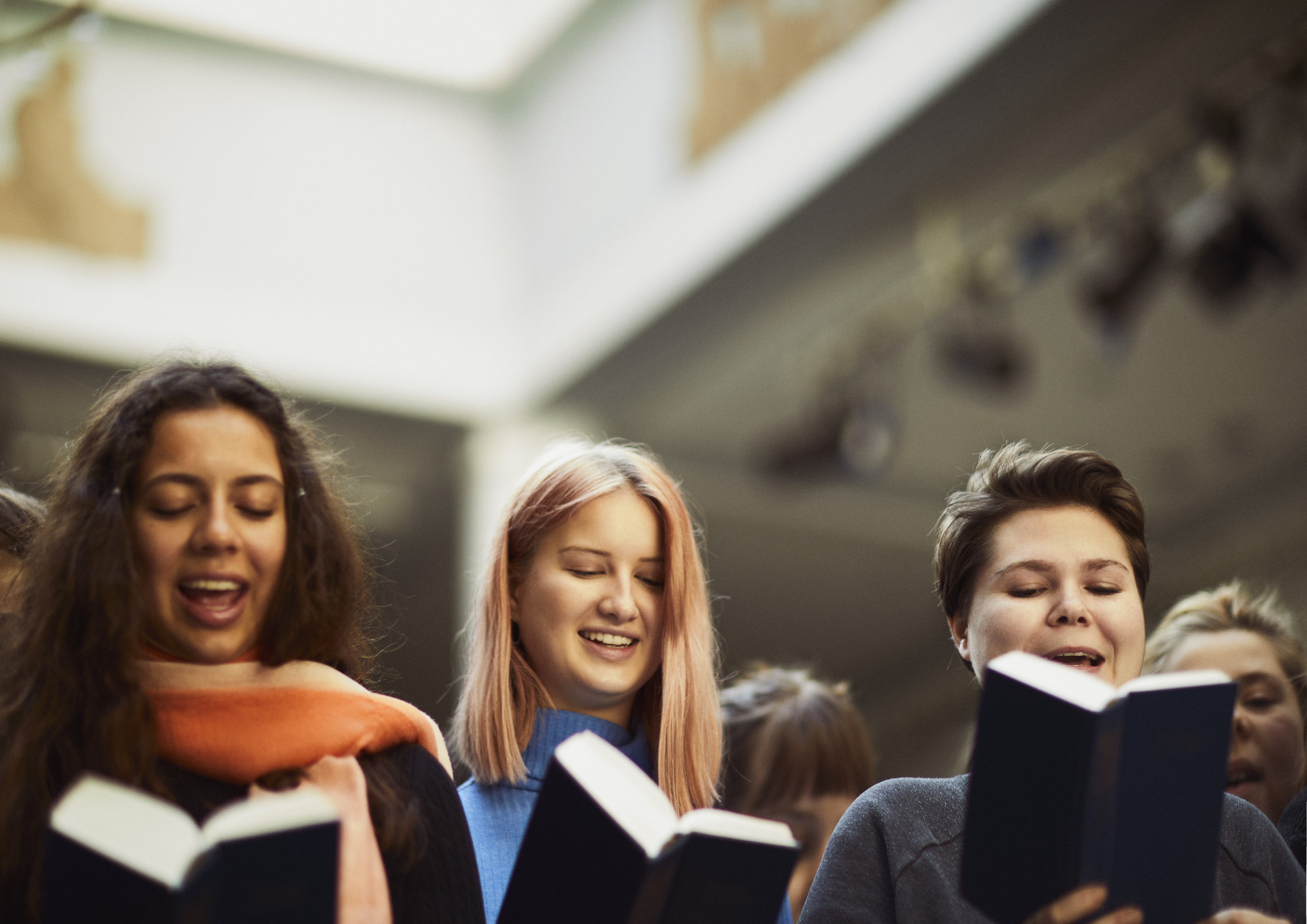 Live fra Højskolesangbogen - Syng med fra den blå på DR K
