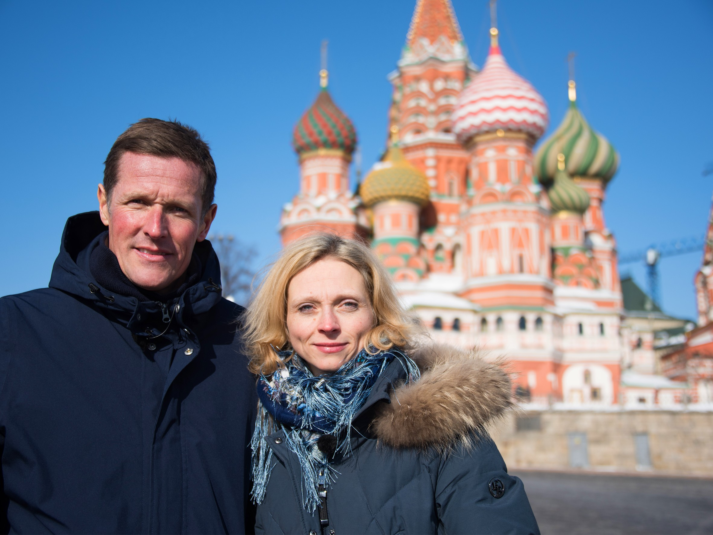 På udebane i Rusland - med Møller og Kimer