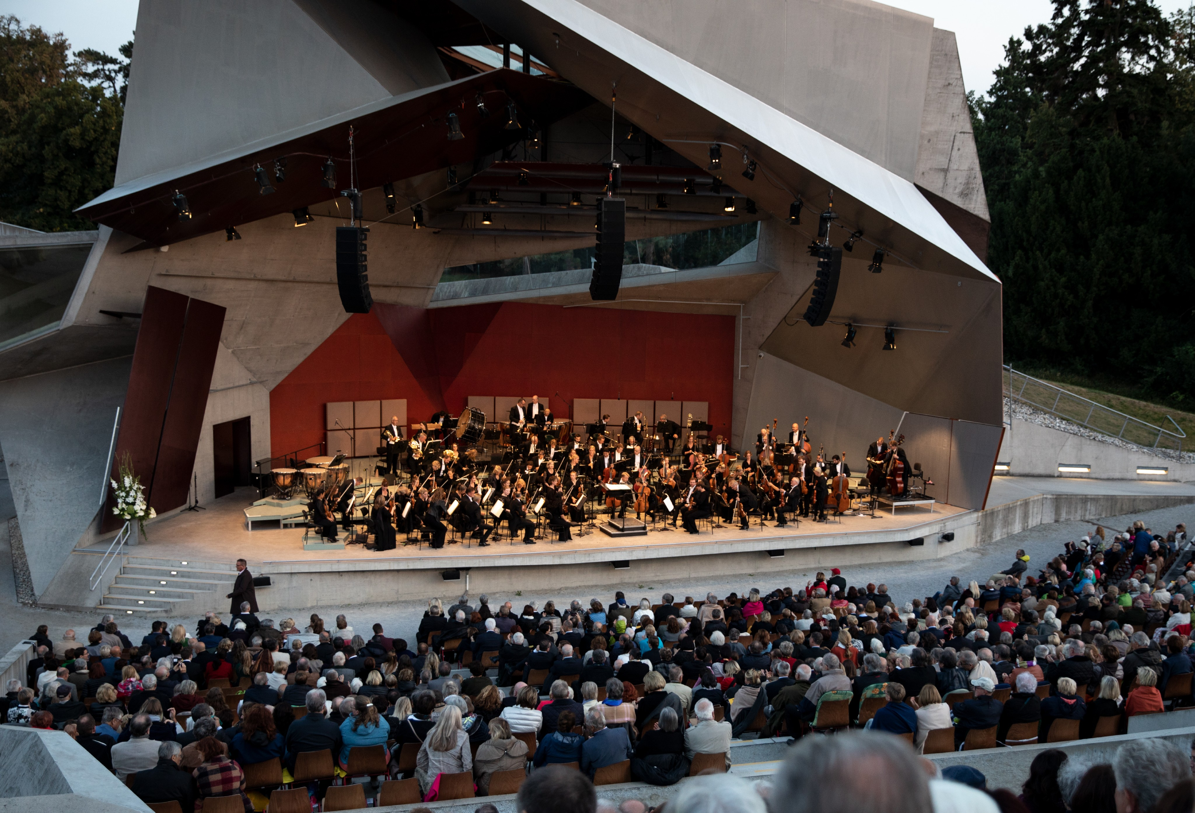 DR SymfoniOrkestret på Grafenegg Festivalen i Østrig
