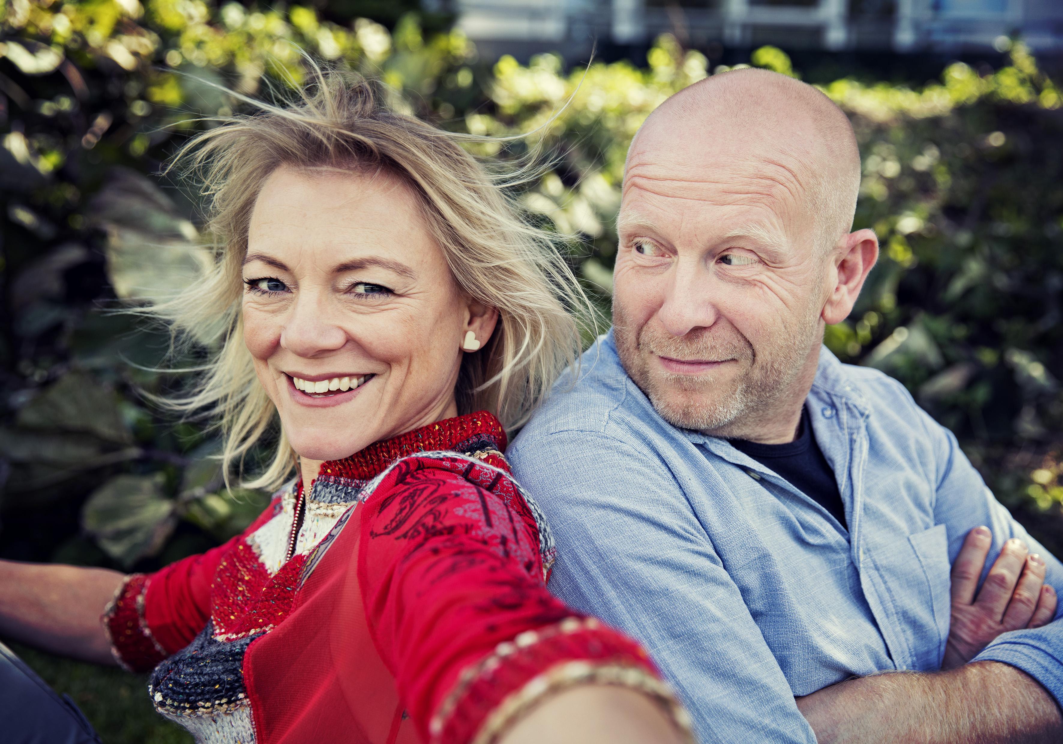 Anders Bisgaard og Maria Hollænder